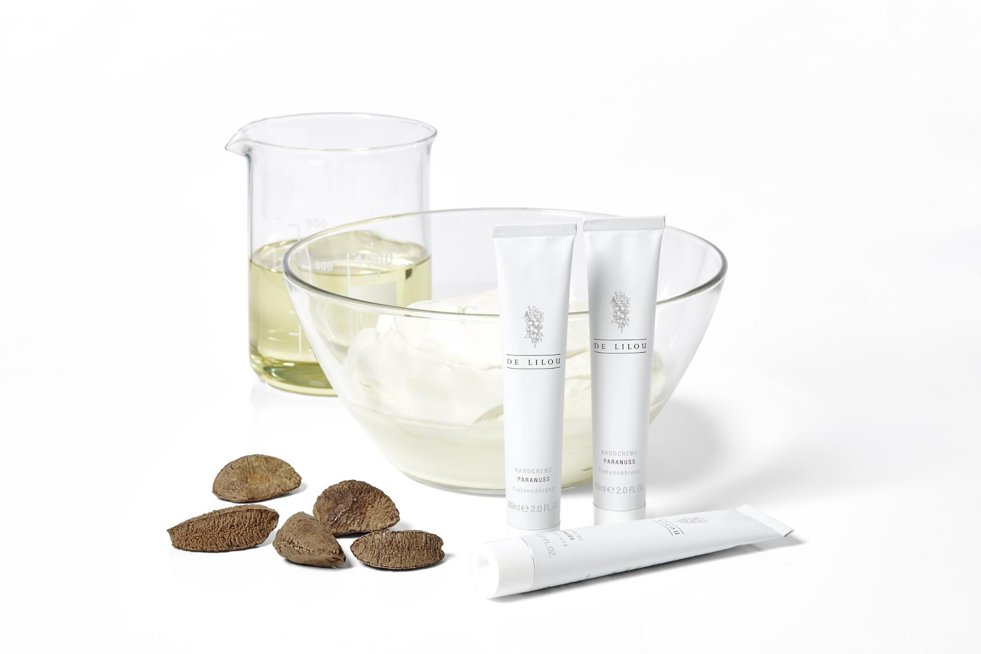 DE LILOU Shopify Shop Paranuss Milch Kosmetik