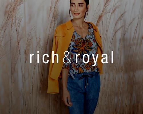 Unser Kunde rich & royal