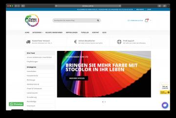 Shopify Projekt farben-profi.de